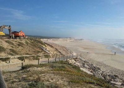 mpreitada de Reforço de Dunas e Proteção Marginal da Praia do Pedrogão