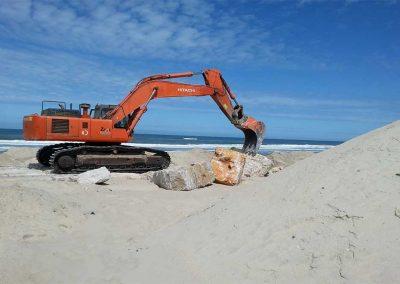 Estabilização das Arribas da Praia de S. Bernardino