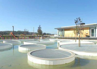 Construção da 1.ª Fase do Parque da Vila, em Porto de Mós